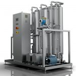 Degasifier - stripping columns - vacuum Degassers
